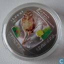 "Aruba 5 florin 2012 (PROOF) ""Shoco Bird"""