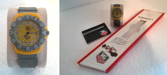 TAG HEUER FORMULA 1, approx. 1990, 382.513