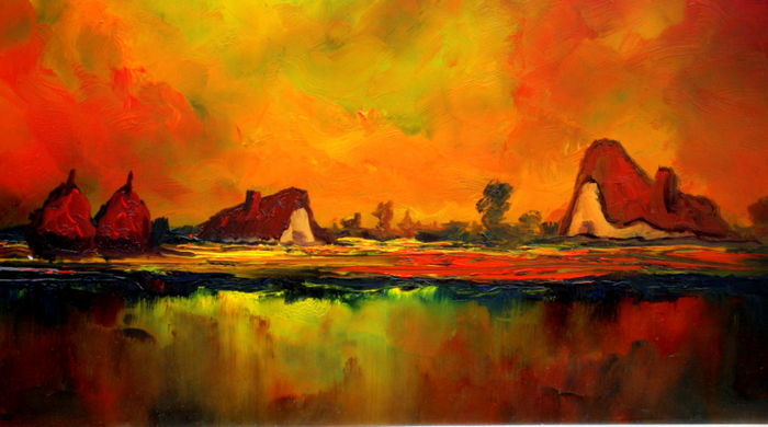 Image result for sultry heat paintings