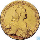 Russia 10 roubles 1766