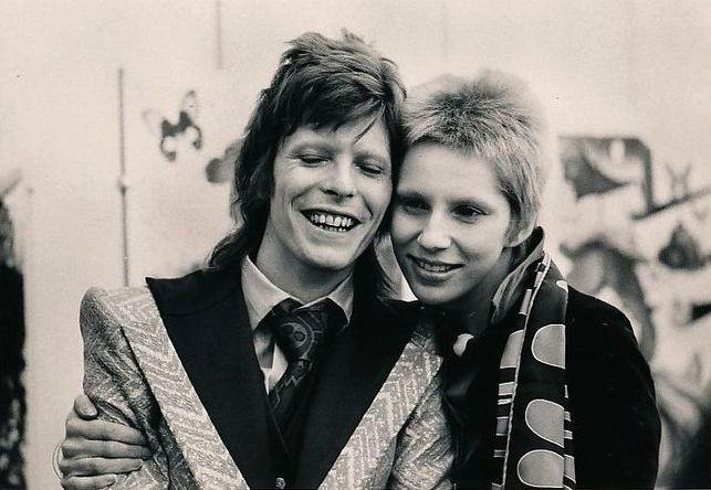 Image result for david and angie bowie matching