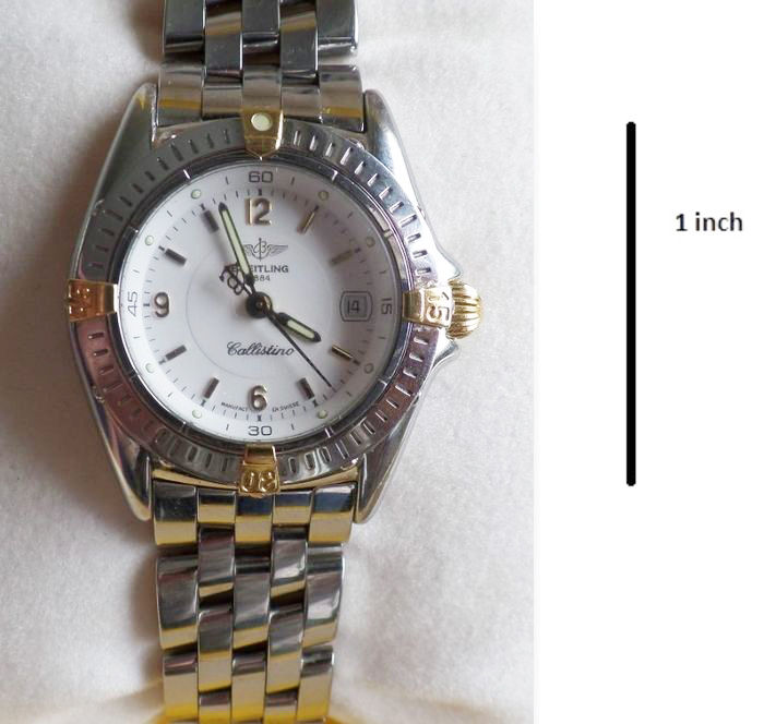 Breitling Callistino - Ladies Watch - Year 1990