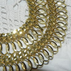8kt 333 yellow gold solid necklace 29.63g from FBM