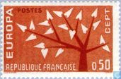 Postage Stamps - France [FRA] - Europe – Tree with 19 Leaves