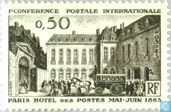 Postage Stamps - France [FRA] - First postal Conference