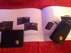 Porsche Creditcard wallet and Key chain bag.