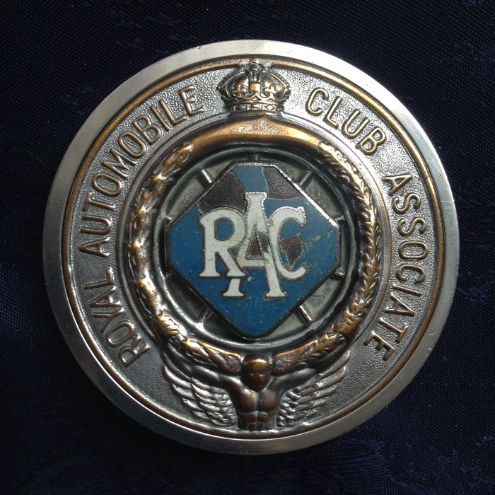 Rac badges through the years
