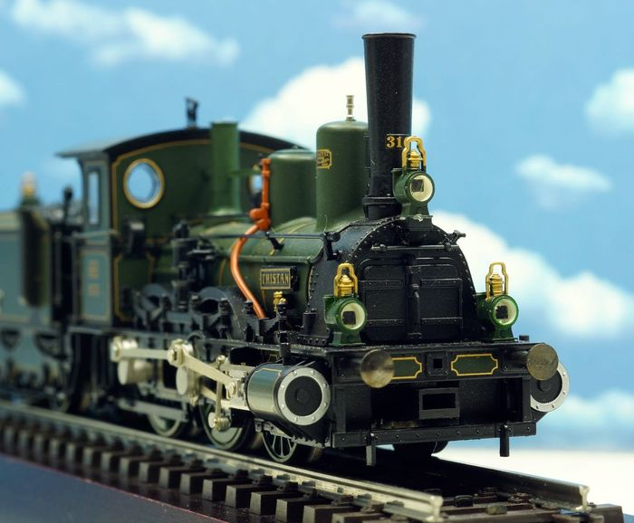 Märklin H0 - 2880 - Steam locomotive with tender - Serie B VI - K.Bay.Sts.B