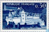 Postage Stamps - France [FRA] - City Walls of Vannes