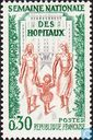 Postage Stamps - France [FRA] - National Hospital Week