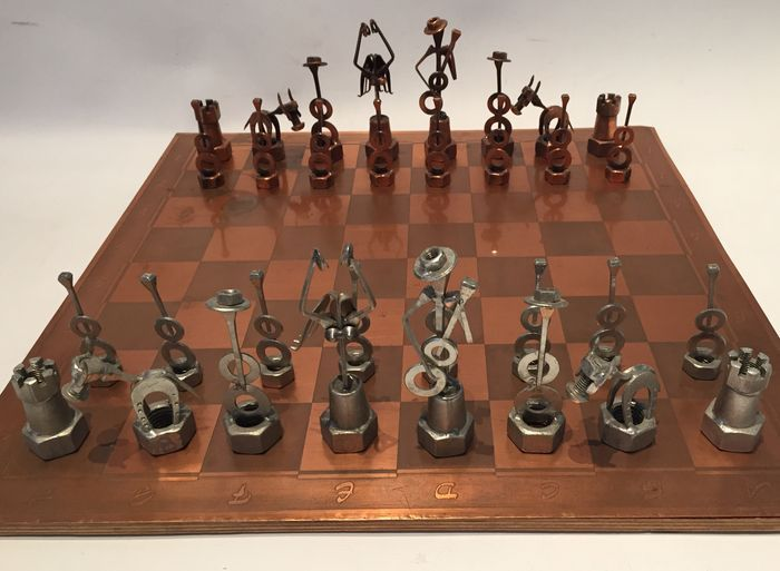 jeu d 39 checs espagnol jeu d 39 checs original fabriqu. Black Bedroom Furniture Sets. Home Design Ideas