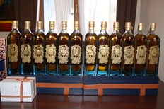 12 x 750ml - Johnnie Walker Zodiac - Set 1 of 100