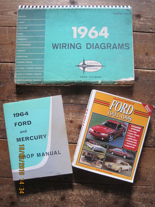 Ford USA - 3x Books - Ford Standard Catalogue 1903-1998 + Shop ...