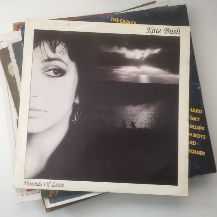 Kate Bush collection of 8 original records including her classic albums -  Catawiki