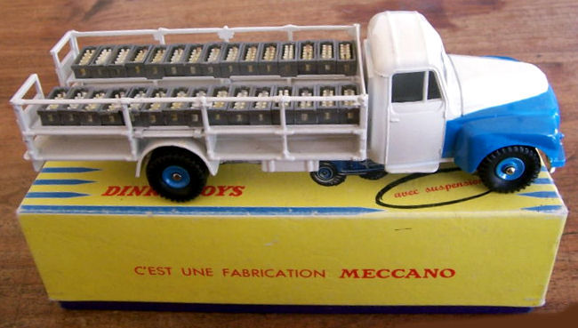 dinky toys france chelle 1 48 camion laitier 55 citro n tr s rare catawiki. Black Bedroom Furniture Sets. Home Design Ideas