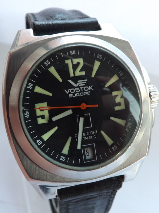 Vostok europe komandirskie russian movement watch catawiki for Vostok europe watches