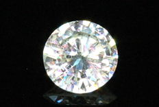 Diamond- 0.51 ct – G, I1 – ( Clarity enhanced ) – No Reserve Price