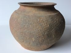 Chinese Pottery Jar - H. 13 cm