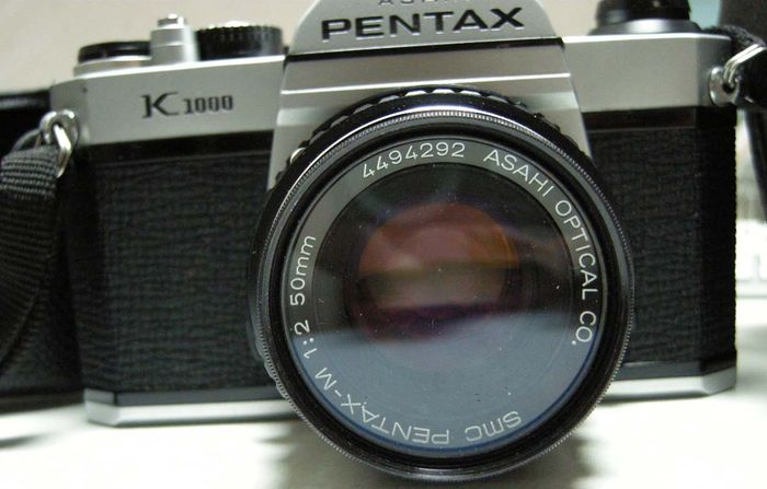 asahi pentax k1000 camera complete with interchangeable optical lens rh auction catawiki com Pentax Repair Manual Pentax 35Mm Owner's Manual