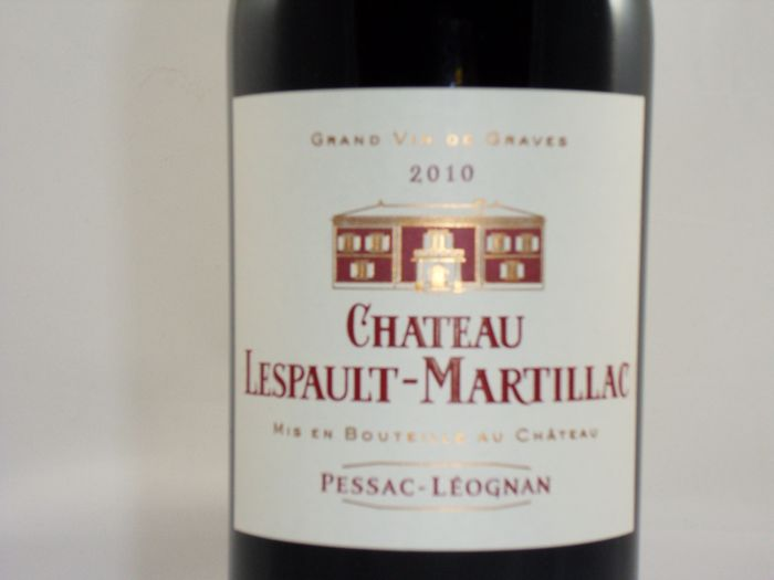 2010 chateau lespault martillac pessac leognan france 6 bottles catawiki. Black Bedroom Furniture Sets. Home Design Ideas