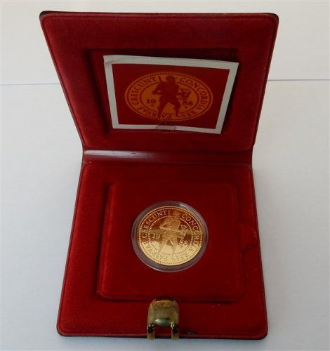 The Netherlands - Double ducat 1988 in coffer - Gold