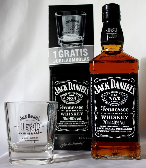 2 Bottles 1 Jack Daniels 150th Anniversary 1866 2016 And 2 Jd