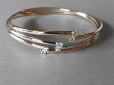 Diamond-set Bangle 0.60 ct