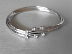 Diamond Set Bangle 0.36 ct