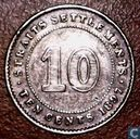 Straits Settlements 10 Cent 1897
