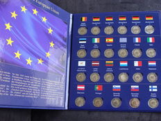 Europe - 2 Euro '30 years European Flag 2015' (23 pieces)