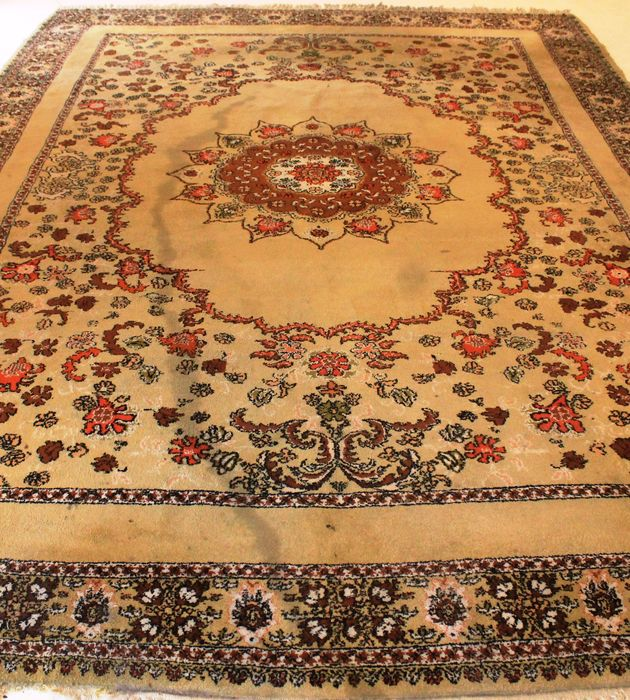 Beautiful Orient Berber Rug, 260 X 370cm, Made In Morocco