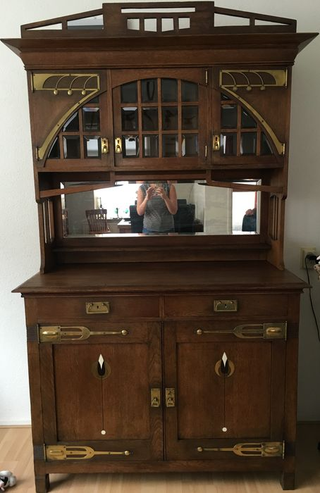 Jugendstil Sideboard With Extraordinary Fittings Catawiki