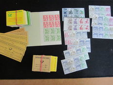 Berlin 1962-1989 – collection of stamp booklets and booklet pages