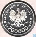"Pologne 200.000 zlotych 1993 (BE) ""750th Anniversary - City of Szczecin"""