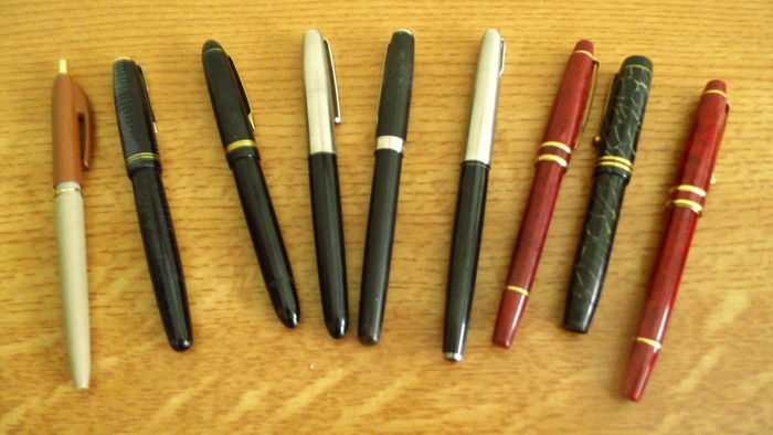 Lot of 8 old fountain pens parker sonnet donati le tigre lot of 8 old fountain pens parker sonnet donati le tigre berwoud thecheapjerseys Image collections