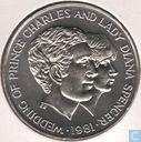 "Ouganda 10 shillings 1981 ""Wedding of Prince Charles and lady Diana"""