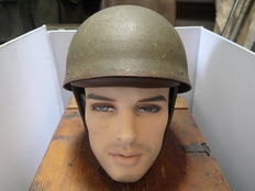 Very special British Courier helmet 1944.