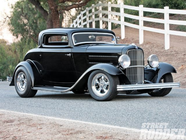 Body kit for Ford 1932 style three window coupe - hotrod kitcar body with parts