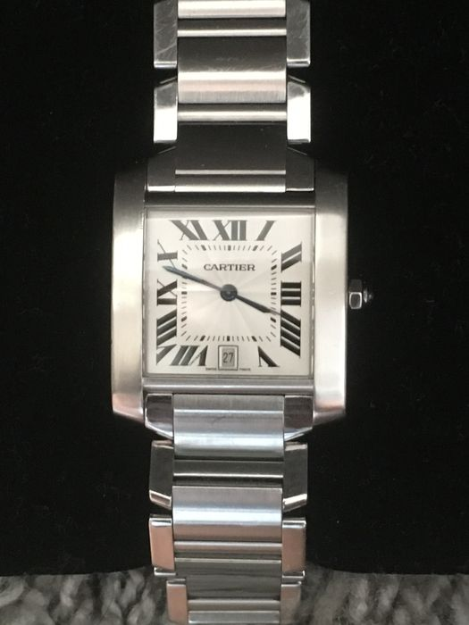 5742f8bf518 Cartier Tank Francaise large model