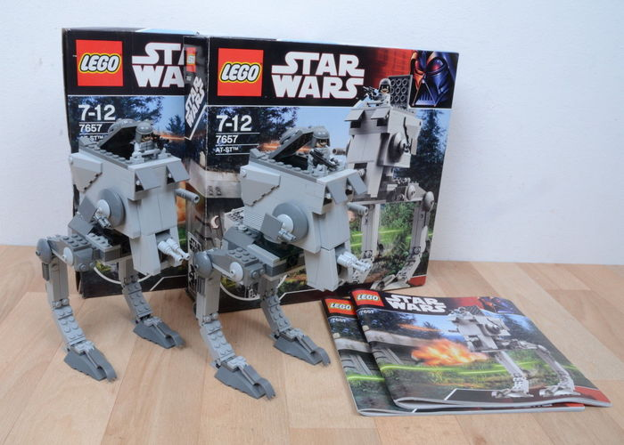 Star Wars 7657 2 At St All Terrain Scout Transport Catawiki