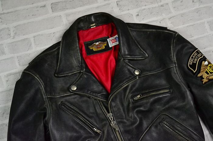 ec9f6d1915514 Harley Davidson – Motorcycle Leather Jacket - Catawiki