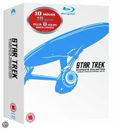 Star Trek Stardate Collection - Blu-ray special edition box set - 10 remastered movies on Blu-ray with 2 bonus discs