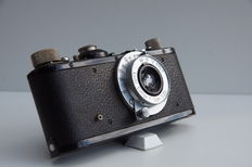 LEICA Standard black nickel Elmar 3,5/50 1934, flash sync.