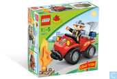 Lego 5603 Fire Car