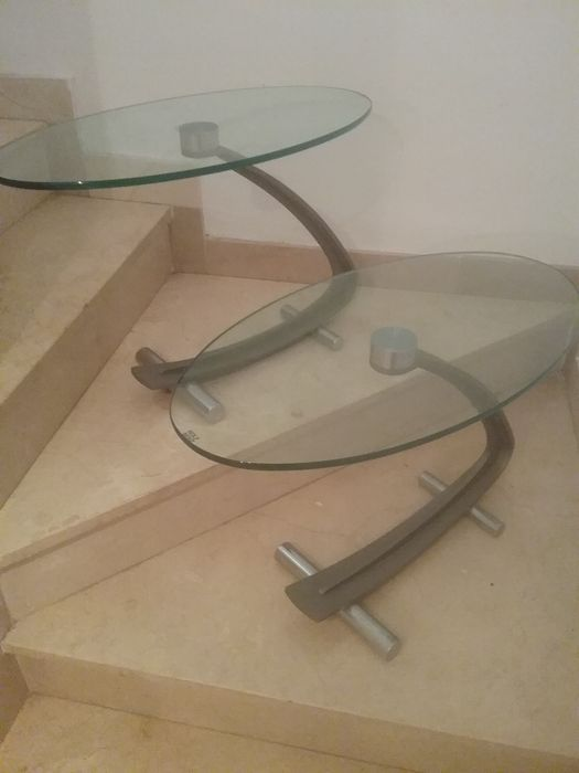 Rolf Benz Design Salontafel.Rolf Benz Pair Of Coffee Tables Side Tables Catawiki