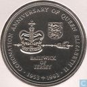 "Jersey 2 pound 1993 ""40th Anniversary - Coronation of Queen Eliabeth II"""