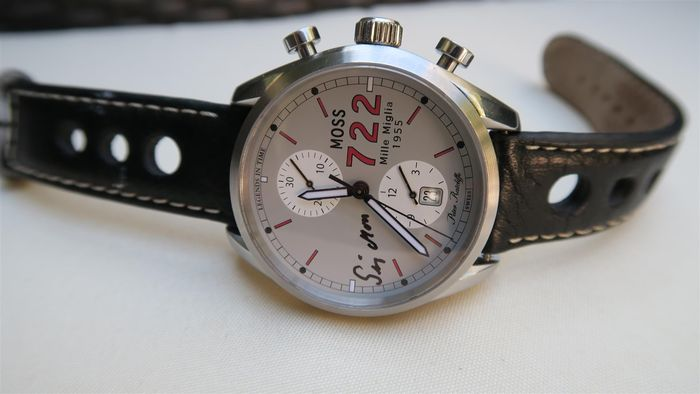 Mille Miglia – Stirling Moss – men's wristwatch
