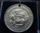 UK   Children's League Of Pity Medal - Barrington  1800s