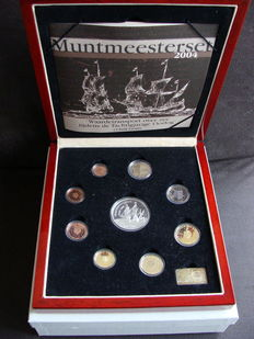 The Netherlands – Year collection 2004 'Muntmeesterset' (Mint master set)
