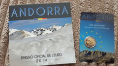 Andorra - Year set 2014 + 2 Euro 2014 joining the EU